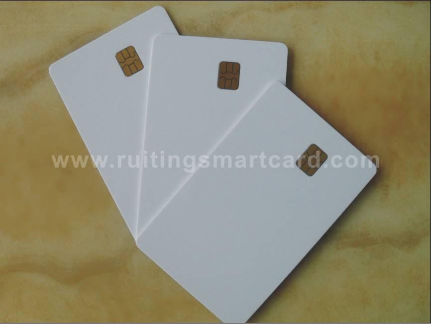 Contact smart card
