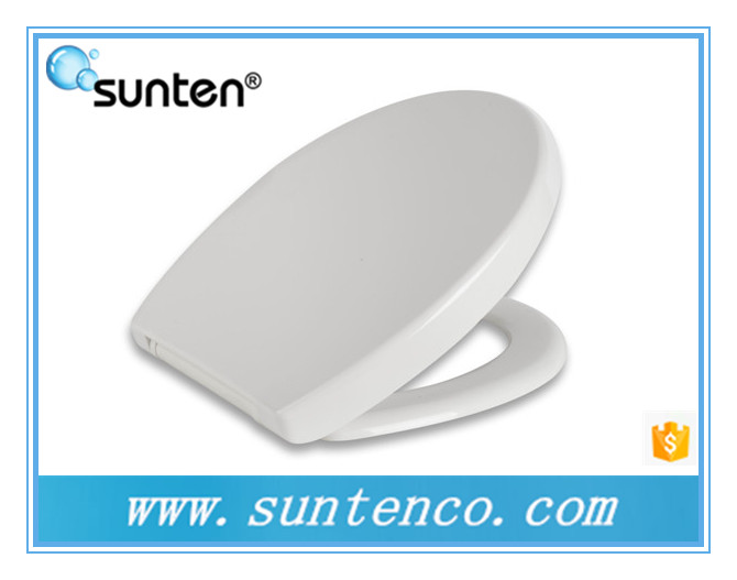 Xiamen White Oval Wall Hanging Family Toilet Seat