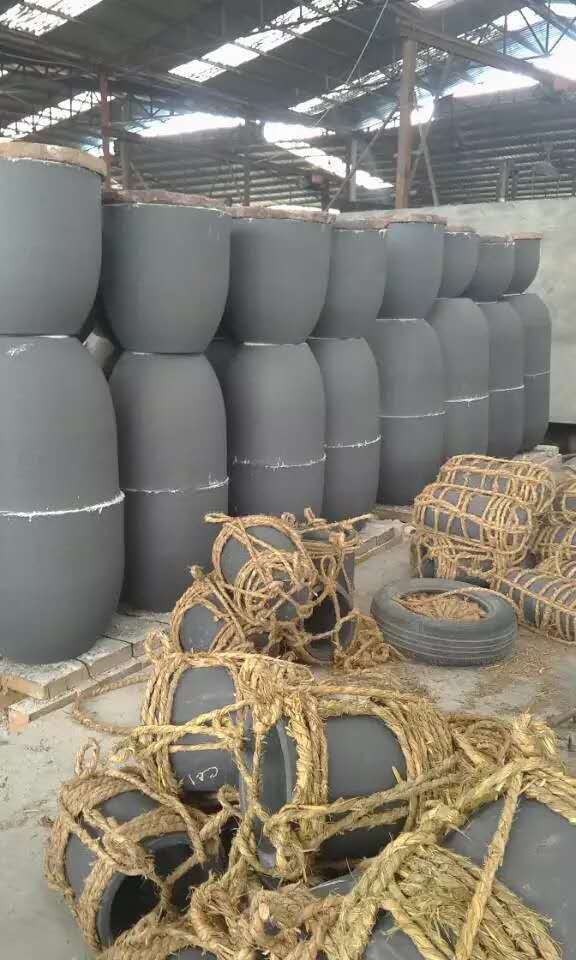Melting aluminum/copper Hot sale graphite crucible for gas/electric/oil furnace 200kg