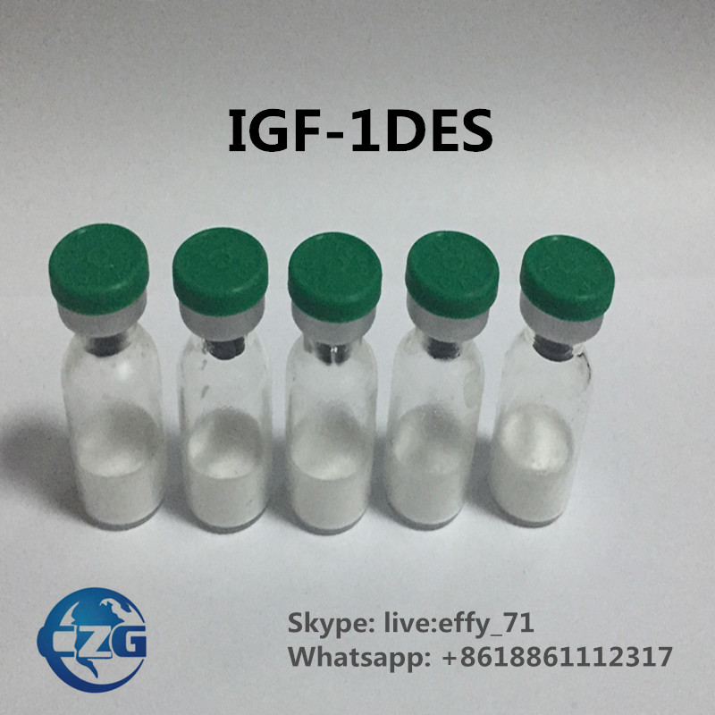 99% Peptides  IGF-1DES 1mg HGH