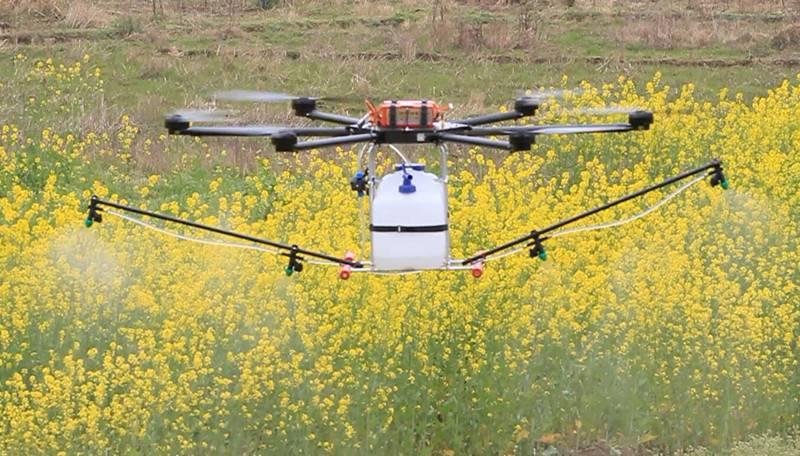 Professional Model Carbon Fiber Agriculture uav crop sprayer drone,GPS WIFI RC Control UAV/drone cro