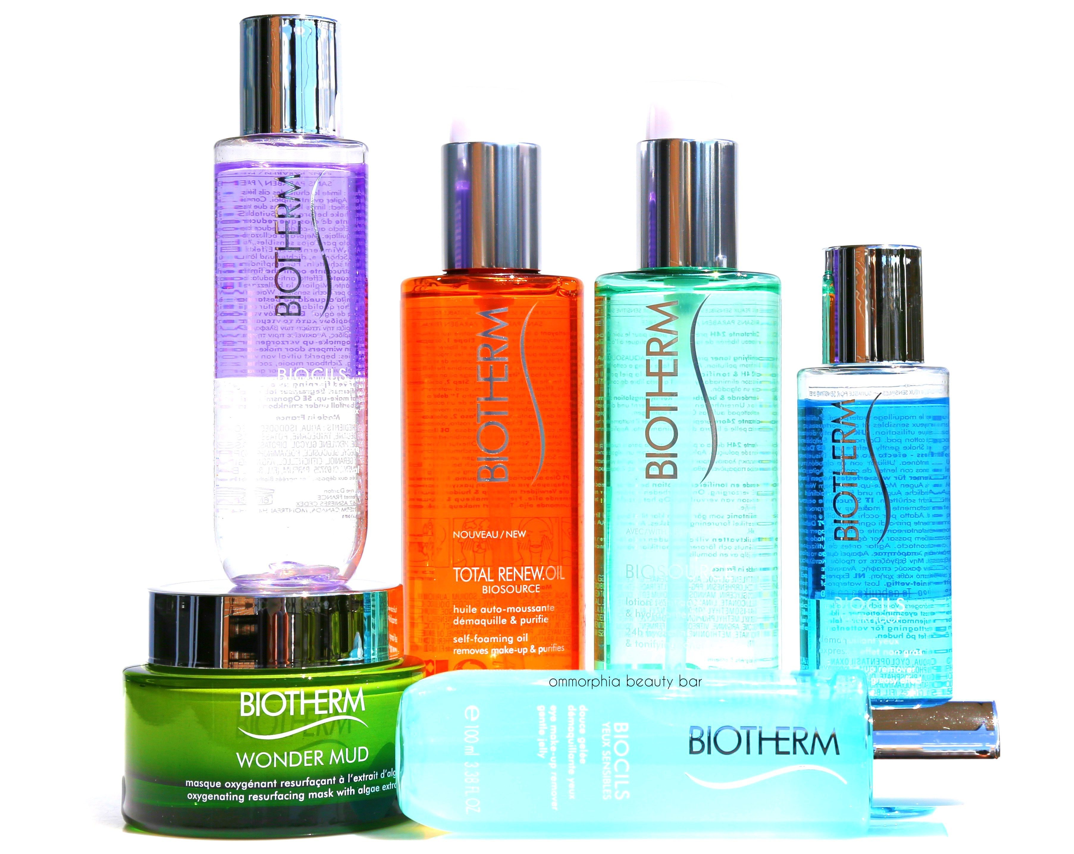 BIOTHERM MAKE UPS, BIOTHERM COSMETICS, BIOTHERM PERFUMES