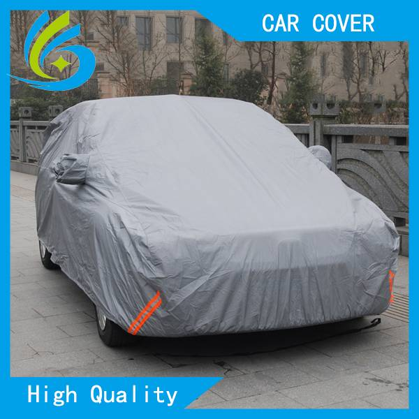 PEVA&PP cotton waterproof breathable fabric heated sewing car cover automatic