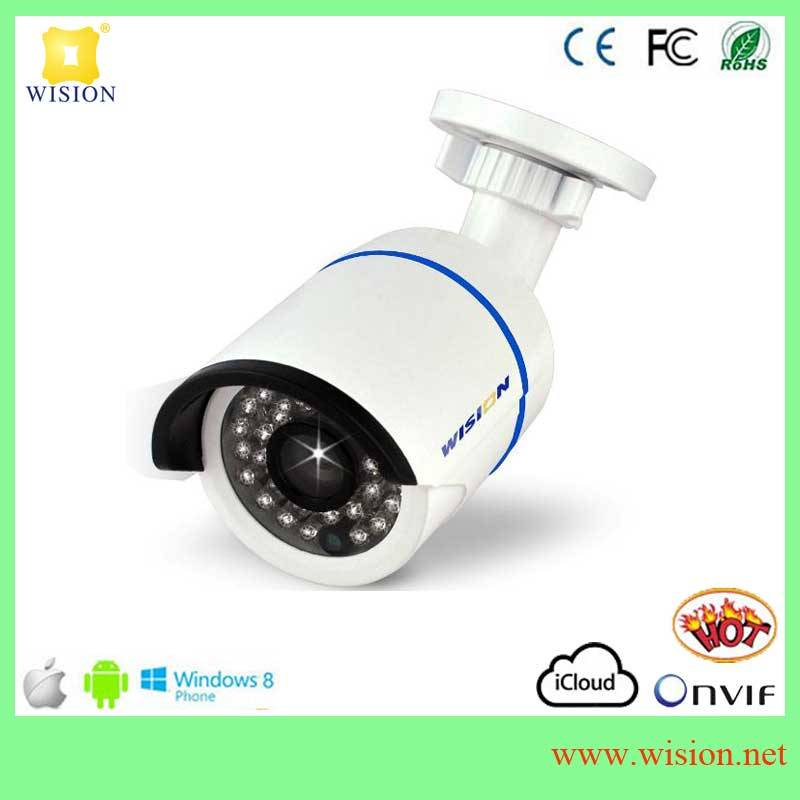 remote view via Android or iphone 64G TF card 5Megapixel fisheye IP security customized Cameras