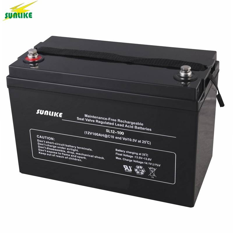 12V 100ah Rechargeable Battery Sealed Lead Acid Battery