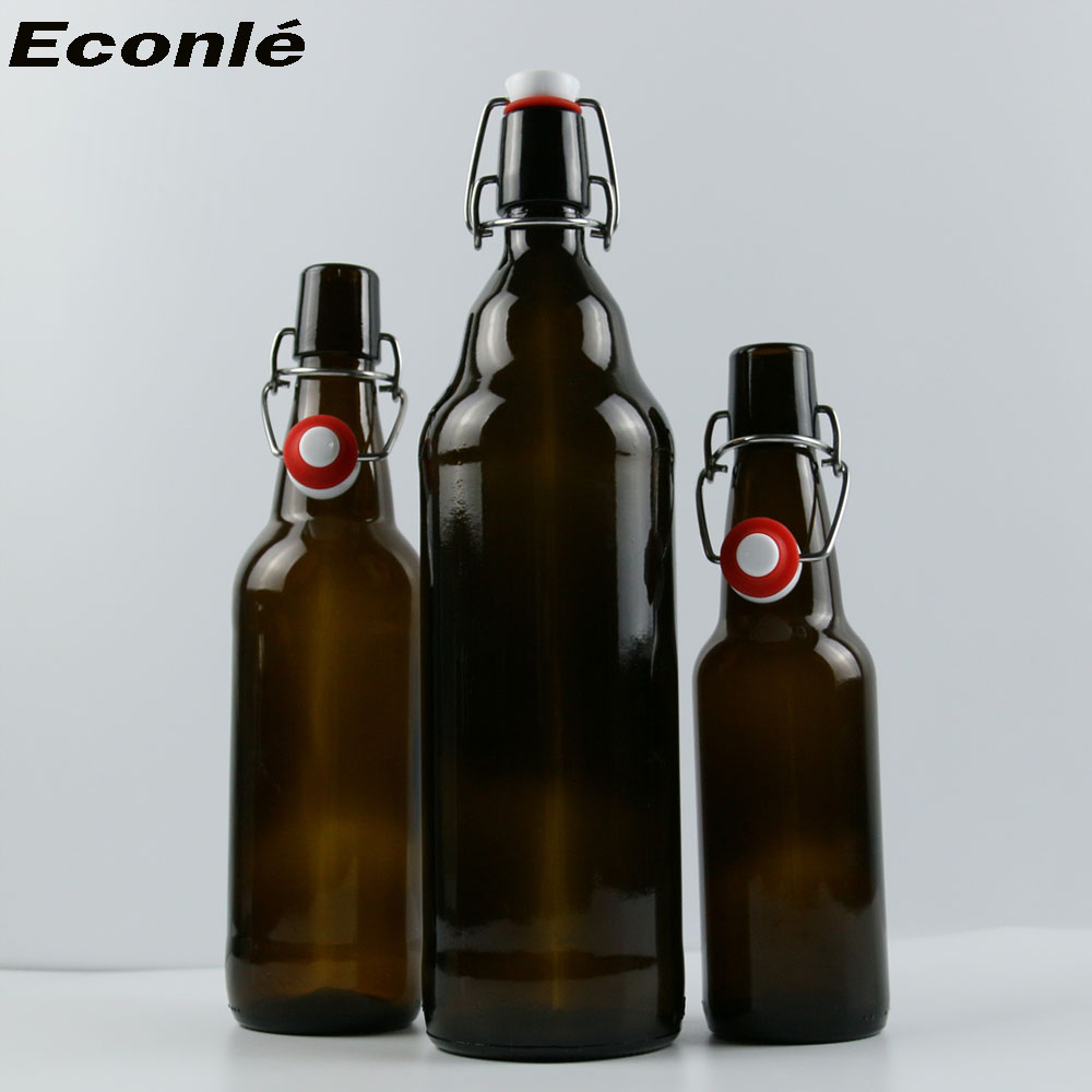 Amber and brown 330ml/500ml/650ml/750ml/1000ml glass beer bottle