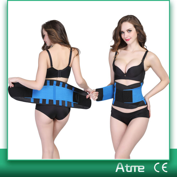 Unisex Sports Slimmer Belt Back Support Waist Trimmer /Exercise Belt /Gym Tummy Belt
