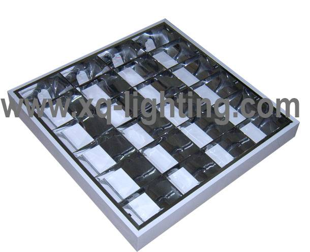T8 4x18w ceiling grille lamp