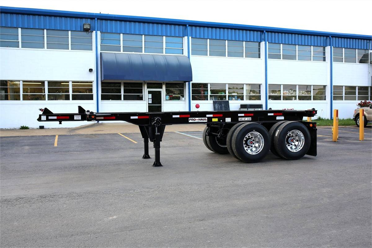20ft 2Axles Slider Container Chassis