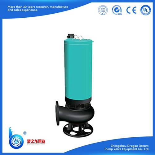 WQS series  water-filled vertical waste water disposal pump
