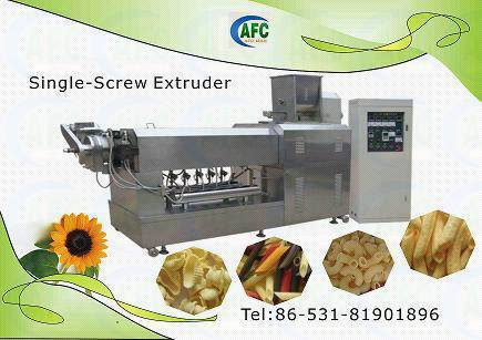 Snacks Food Machine---Single Screw Extruder