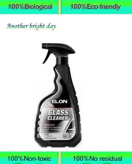 All nature car glass cleaner