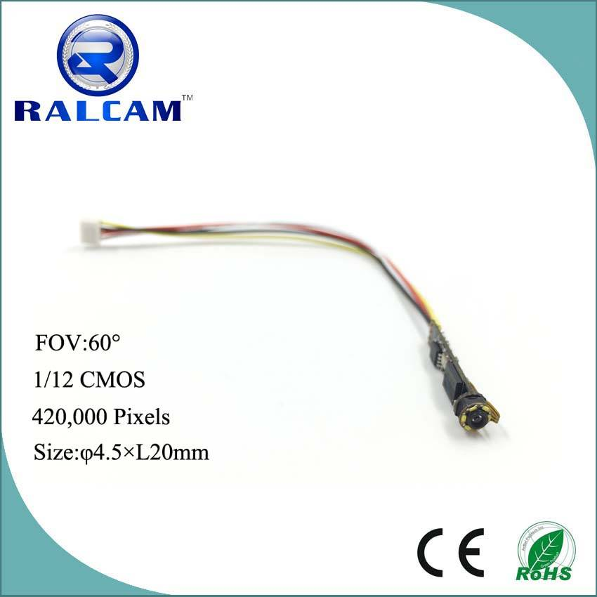6 pcs high brightness LED 720*525 Pixels NTSC/PAL Video Output Camera Module