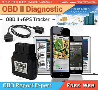 Plug and Play CANBUS OBD GPS vehicle Tracker Diagnostic