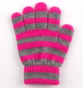 touchscreen gloves  magic Knitted gloves kidsglove  winter mittens could made from wool acrylic cash
