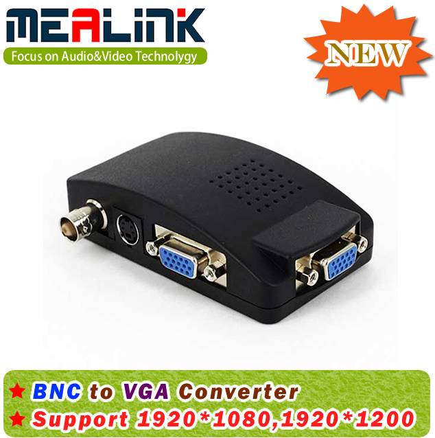 BNC to VGA Converter (Support 16: 9, 4: 3, and 16: 10) (YLC7510)