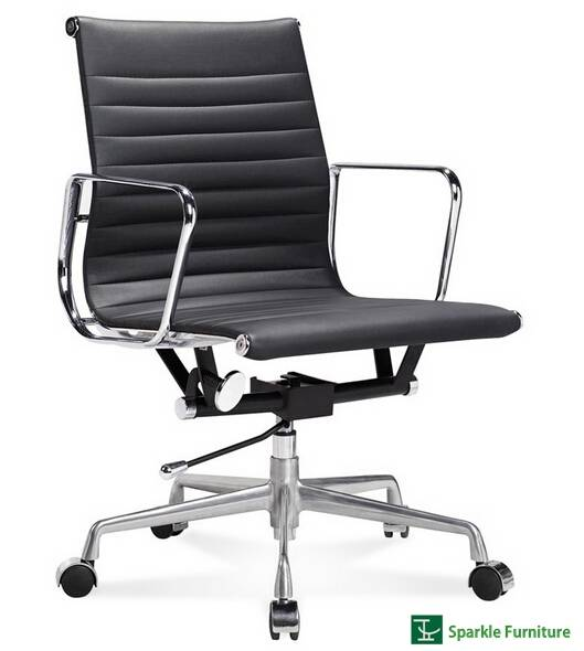Eames low back aluminum group office chair