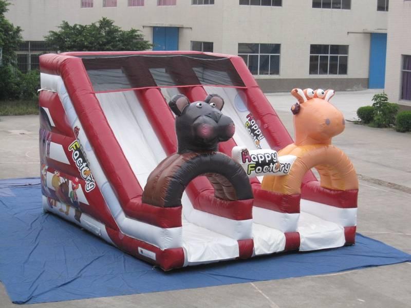 Lanqu used swimming pool slide