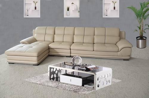 ganuine leahter sofa h143