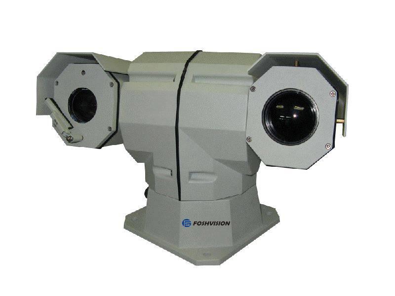 PTZ Thermal and HD Daylight Dual Sensor Camera