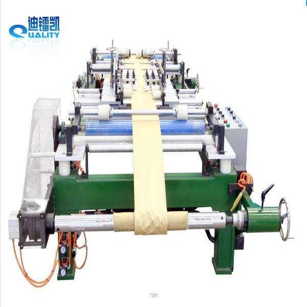 Insulation layer edge folding machine