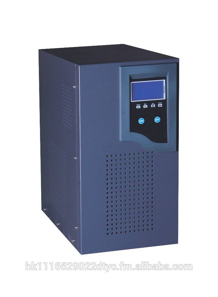 High efficiency pure sine wave output dc to ac power inverter