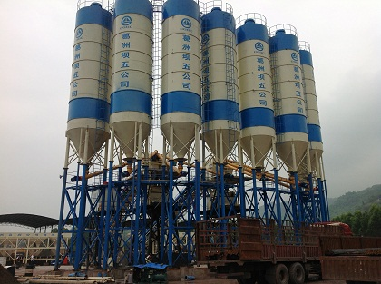Compact Structure Cement Silo