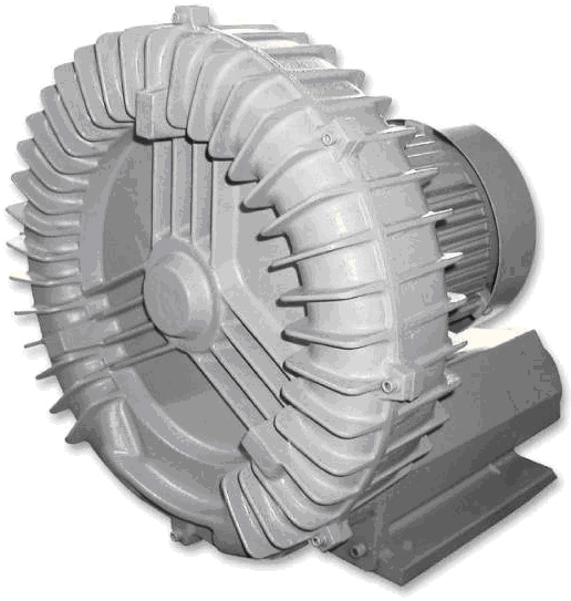 HIGH PRESSURE RING BLOWER, water treatment