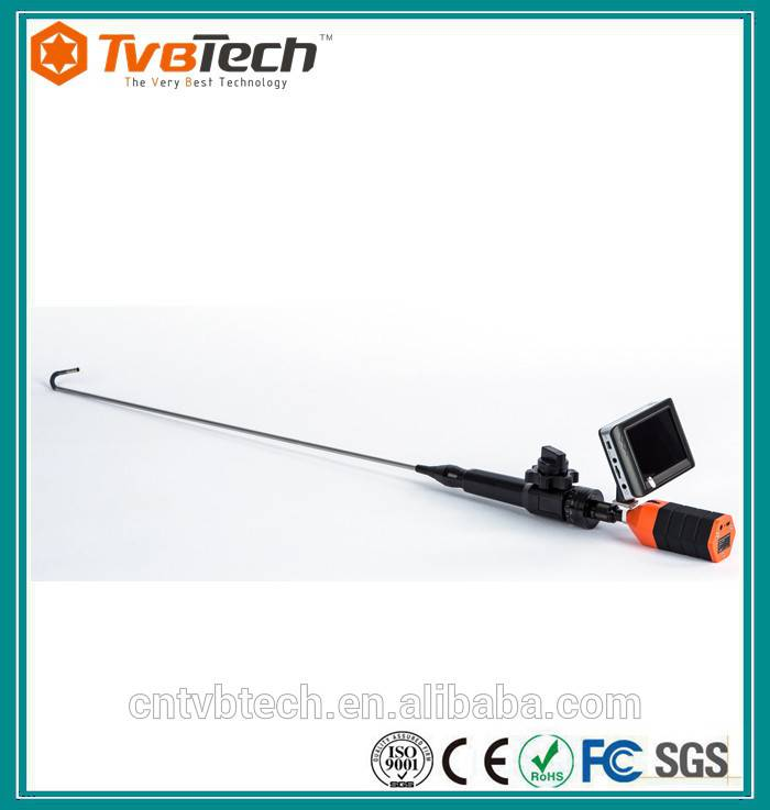 Rigid 2-way 300 degree rotate probe camera with pab and tilt camera head