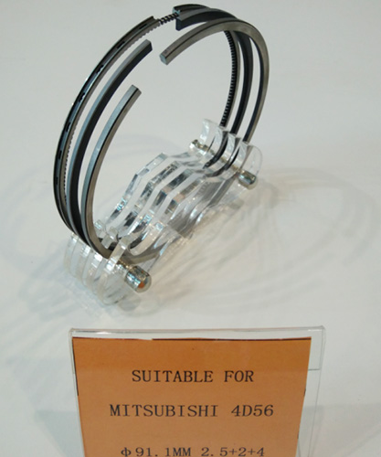 Factory Manufacturer Mitsubishi 4D56 Piston Ring with Good Quality