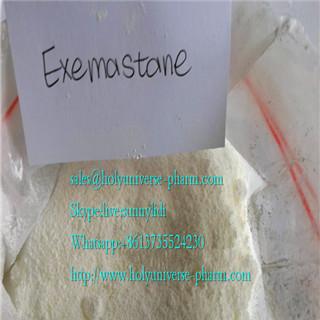 Exemestane/Exe raw steroids powder/Exe/anabolic exemestane/cas107863-30-4