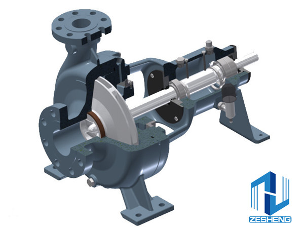 API610 OH2 Industry Single-stage Pump (VOHB Series)