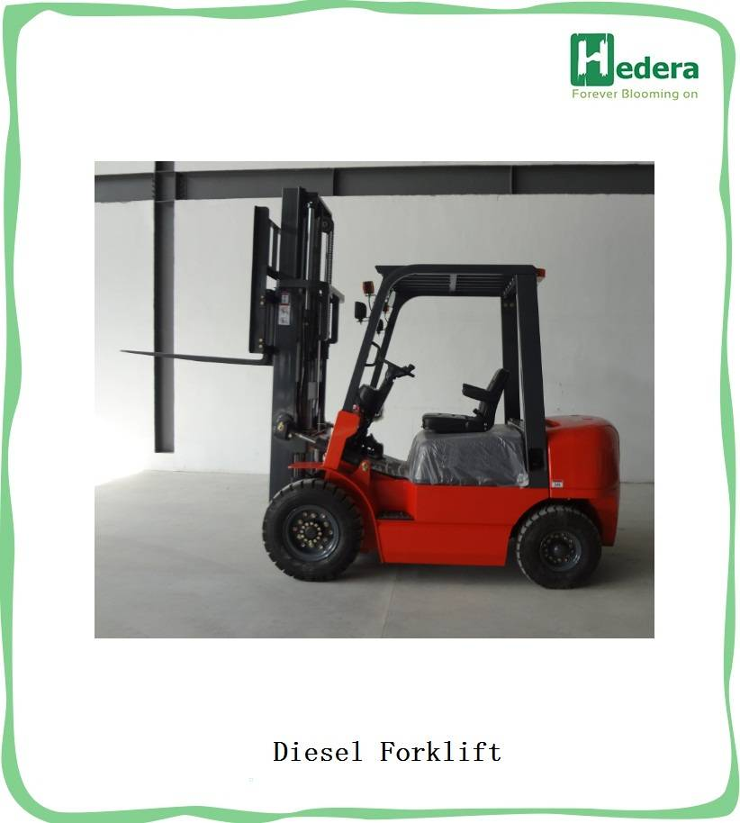 Diesel Forklift 3 Tons With ISUZU Engine