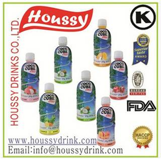 2016 Hot Brand HOUSSY 100% Natural Fruit Flavor Nata De Coconut Drink