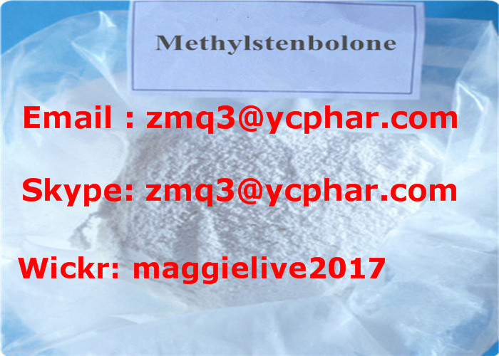 Methylstenbolone (M-Sten) New Bodybuilding Powder Prohormones CAS 5197-58-0