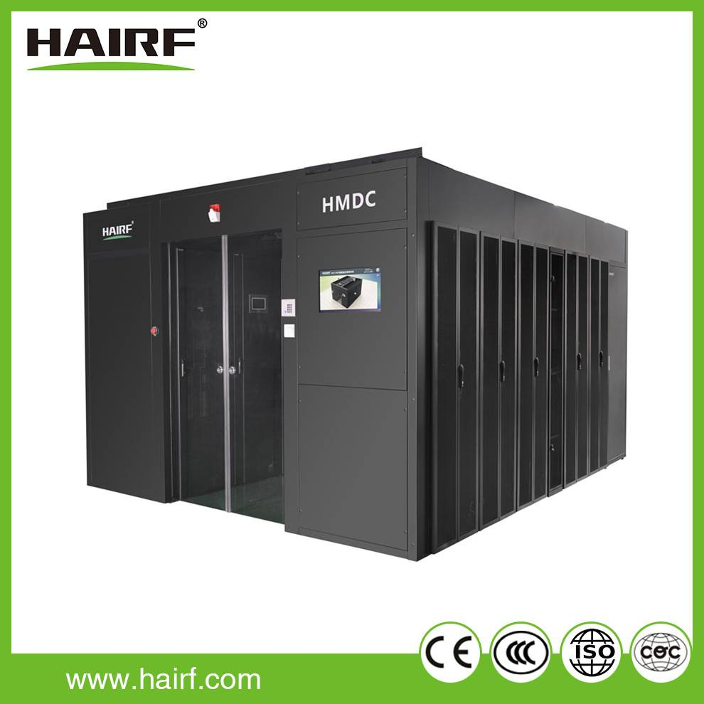 Hairf integrated expandable modular data center