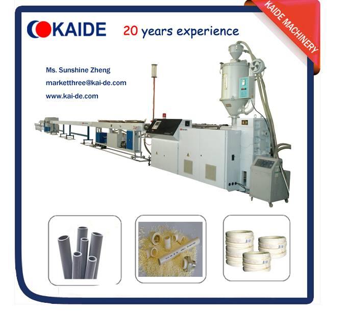 Polybutylene PB pipe production line KAIDE BASELL PB4267