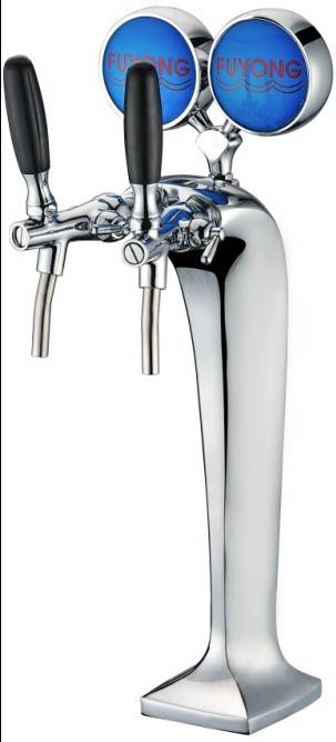 Two Tap Cobra Beer Dispenser