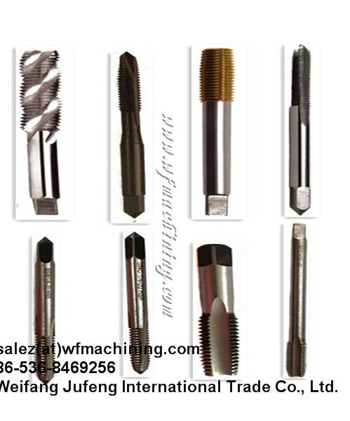 High Quality Machining Screw Taps for Machining Machinery
