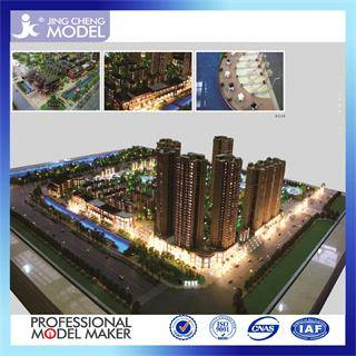 Experienced architectural model maker for commercial building plans