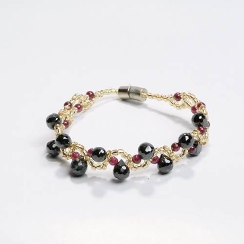 selling gemstone bracelet jyl017