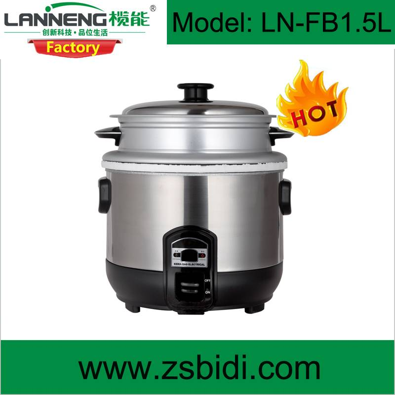 High Class Stainles Steel Biogas Rice Cooker