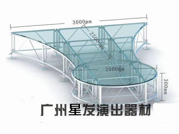 outdoor stage platform, aluminum stage platform, folding stage platform