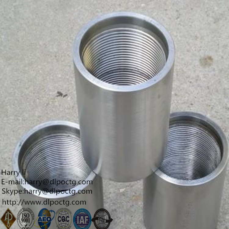 "muff coupling/hdpe to steel pipe coupling / 5"" Casing Coupling"