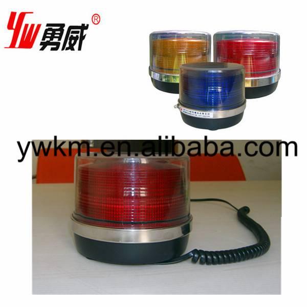magnet car 12v 24v led rotating beacon light