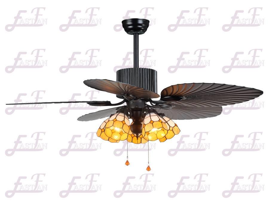 East Fan 54inch Five Blade Indoor Ceiling Fan with light item EF54501