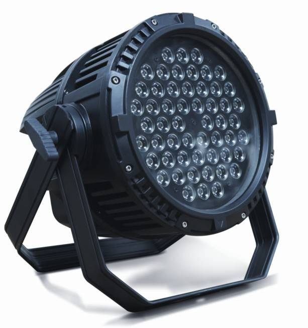 54*3w led par light RGBW led waterproof  led stage light led outdoor wash par light