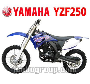 Dirt Bike Full Size 250cc Yamaha YZF250 Motorcycle