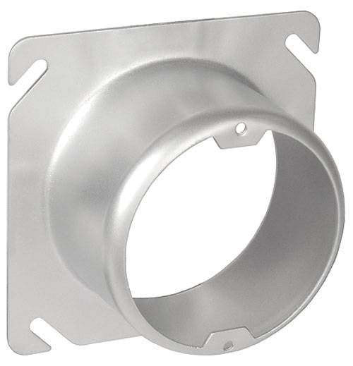 """4"""" Square to Round 2"""" Raised Device Ring (SCV-20435)"""