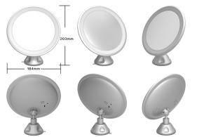 360 degree rotating compact mirror